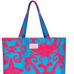 NEW •• Lilly Pulitzer Limited Edition Seaside Tote